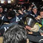 Милиционеры, пострадавшие в Киеве, госпитализированы
