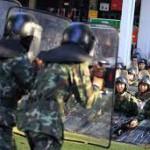 Ночная операция против демонстрантов в Таиланде