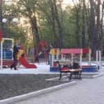 Открытие парка с новыми аттракционами в лесной зоне под Белогорском