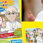 Папа Римский Франциск – герой детской книги комиксов