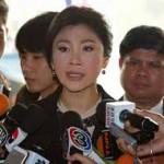 По словам Тайской авиакомпании, премьер-министр не сбегала из страны