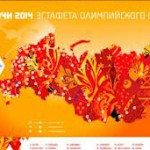 Путь Олимпийского огня в России