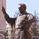 Установлен памятник автору гимна России