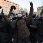 В России за год задержано пять тысяч протестующих