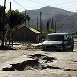 Сильное землетрясение в Мексике